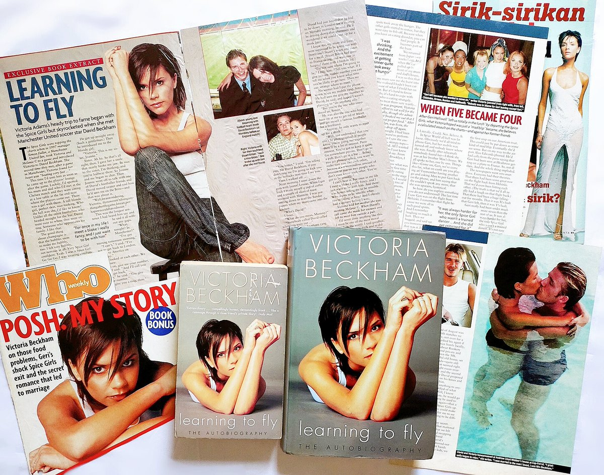 """19 Years Ago @victoriabeckham Autobiography Book """"Learning To Fly"""" was released on 13 September 2001. #victoriabeckham https://t.co/DfQI6sMUD4"""