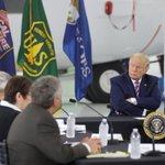 Image for the Tweet beginning: Trump om klimaforandringer: Det bliver