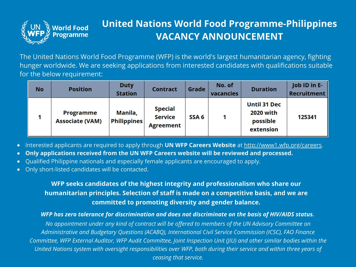 World Food Programme Philippines Wfp Philippines Twitter