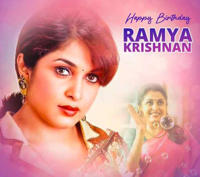 Happy Birthday  Ramya Krishnan garu