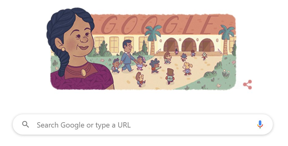 Google is paying homage to Felicitas Mendez, a Puerto Rican woman. She and her Mexican immigrant husband, Gonzalo Mendez, led a school desegregation fight in California. It set up the Brown vs. Board of Ed landmark case. #history https://t.co/GXSLyNYD0c