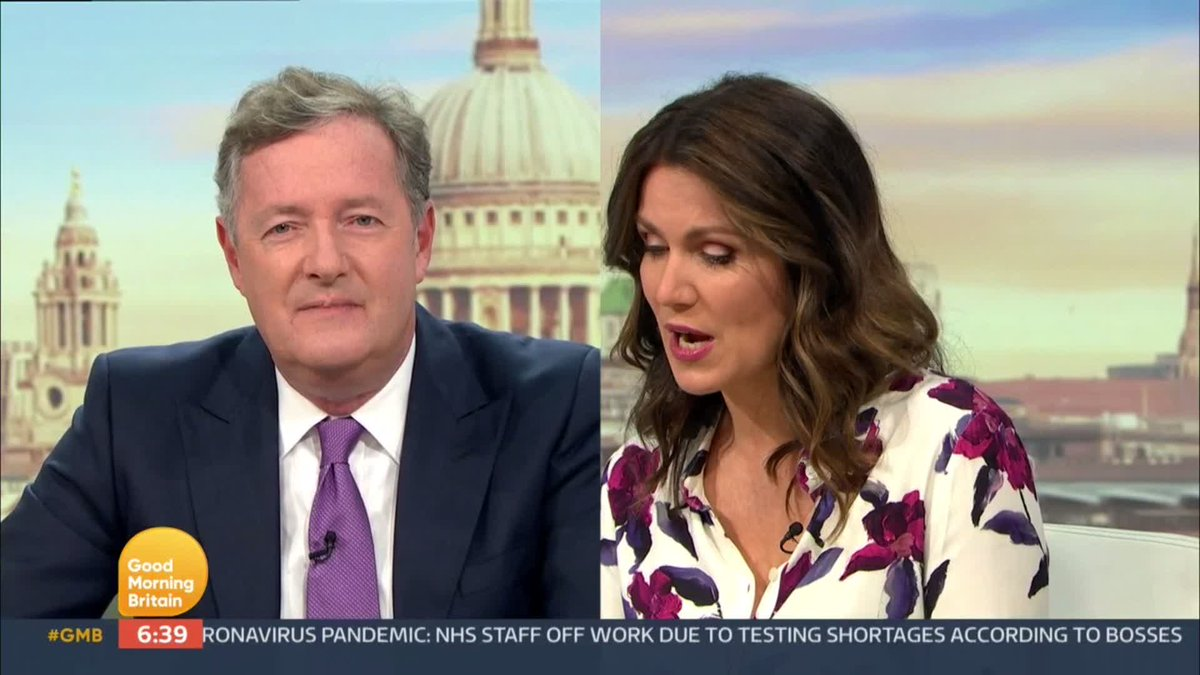 Would you call the police on your neighbours for breaking the 'rule of six'? It's split our presenters this morning… @Susannareid100❌ @charlottehawkns❌ @drhilaryjones❌ @Richardaarnold❌ @Lauratobin1❌ @Piersmorgan✅