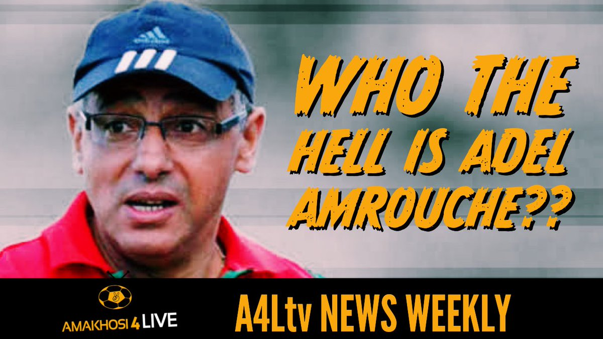Stay tuned to our YouTube channel later today! @JLMokwena will be discussing the rumours around Adel Amrouche becoming the next Kaizer Chiefs head coach.   True or False? Subscribe and follow us #A4Ltv #Amakhosi4Life https://t.co/cagvhbDVrL