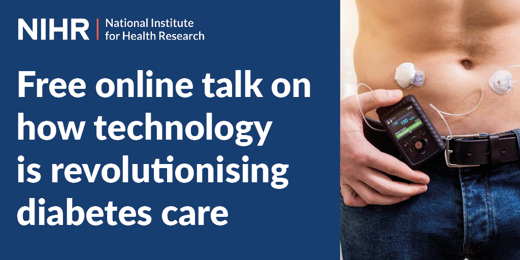 Watch a free online talk about how technology is revolutionising diabetes care by Prof Katherine Owen and Dr Rachel Besser of @ouhospitals at 6pm on Monday 26 October. Read more and book now at https://t.co/r0cyMOnIHg @Oxford_IF https://t.co/zDv0zhXsvA