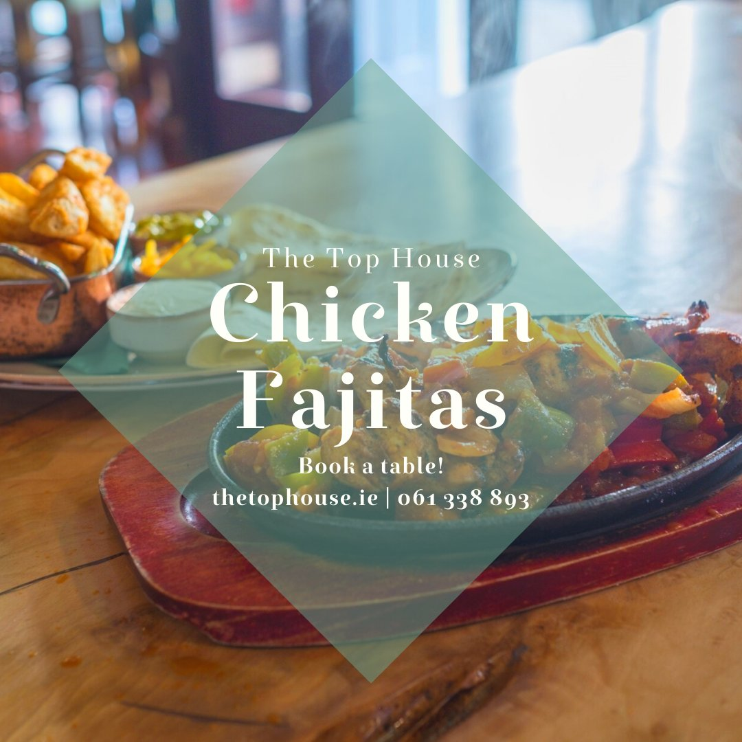 Fill the tank this lunch time with our Chicken Fajitas 🔥  https://t.co/hHymooCmVh | 061 338 893  #Limerick #ChickenFajitas #Lunch https://t.co/vhi7rIXz1w