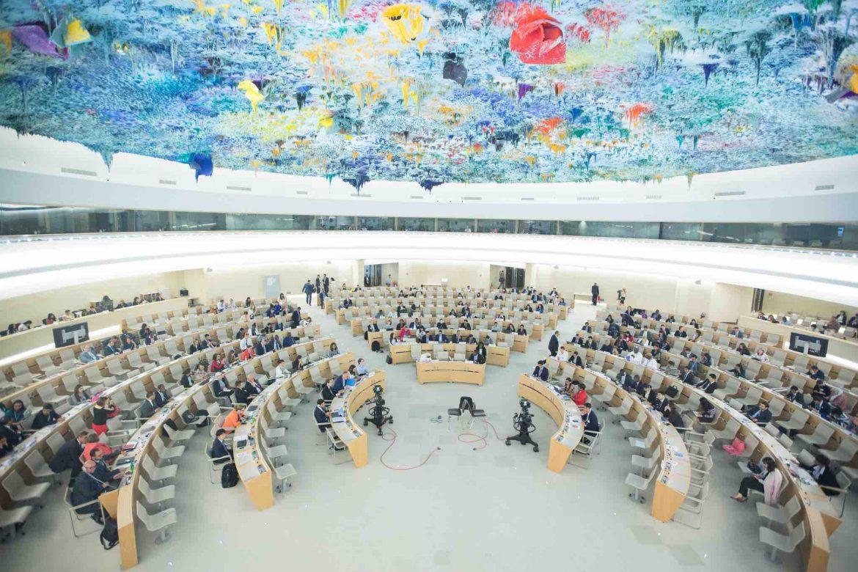 #عاجل|| ممثلو 30 دولة يطالبون #مجلس_حقوق_الإنسان بالضغط على #السعودية للإفراج عن المعتقلين السياسيين  كما عبروا عن قلقهم لاحتجاز ما لا يقل عن 5 ناشطات على يد #السلطات_السعودية  #معتقلي_الرأي #٣سنوات_على_حملة_سبتمبر