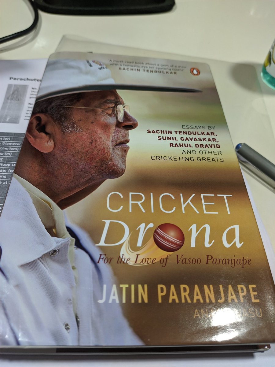 #CricketDrona is finally here!!  Been waiting for this one ever since @jats72 mentioned it in on 22 Yarns podcast episode with @gauravkapur   #Cricket