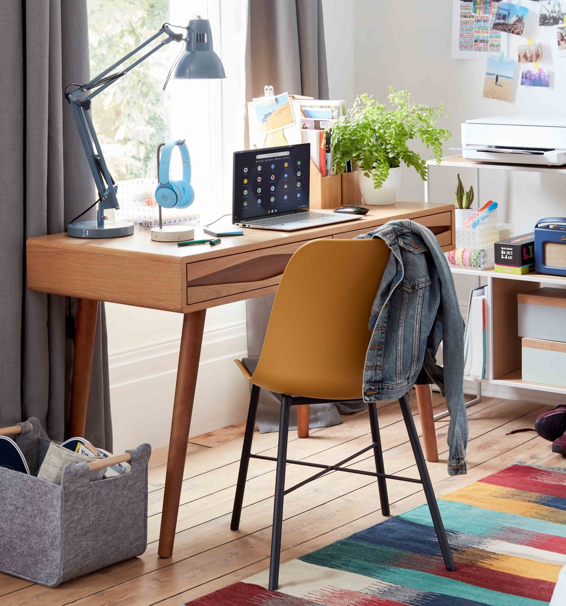 Wherever you're starting the new university term from, create the perfect study station to keep your focus with the right desk, chair and lighting. 📚 Shop for all your University essentials: https://t.co/fIZBOHfMKo. https://t.co/iQGBTXaodq