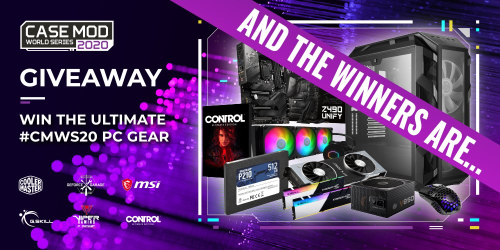 Congrats on winning the #CMWS20 giveaway grand prize Connor Tunbridge!  Also congrats to the winners of the runner-up prize: Steam key for Control Ultimate Edition, Stanislav Kudrlička, Cem Canli, Alan Vunic, Jaya Dinesh. https://t.co/OSjSEBHvbg