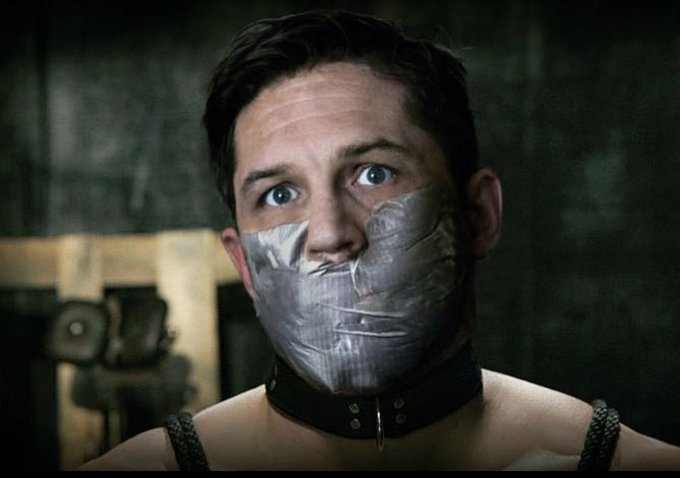 Happy birthday to my biggest crush Tom Hardy.  Wish I could kidnap him like in this great manips by