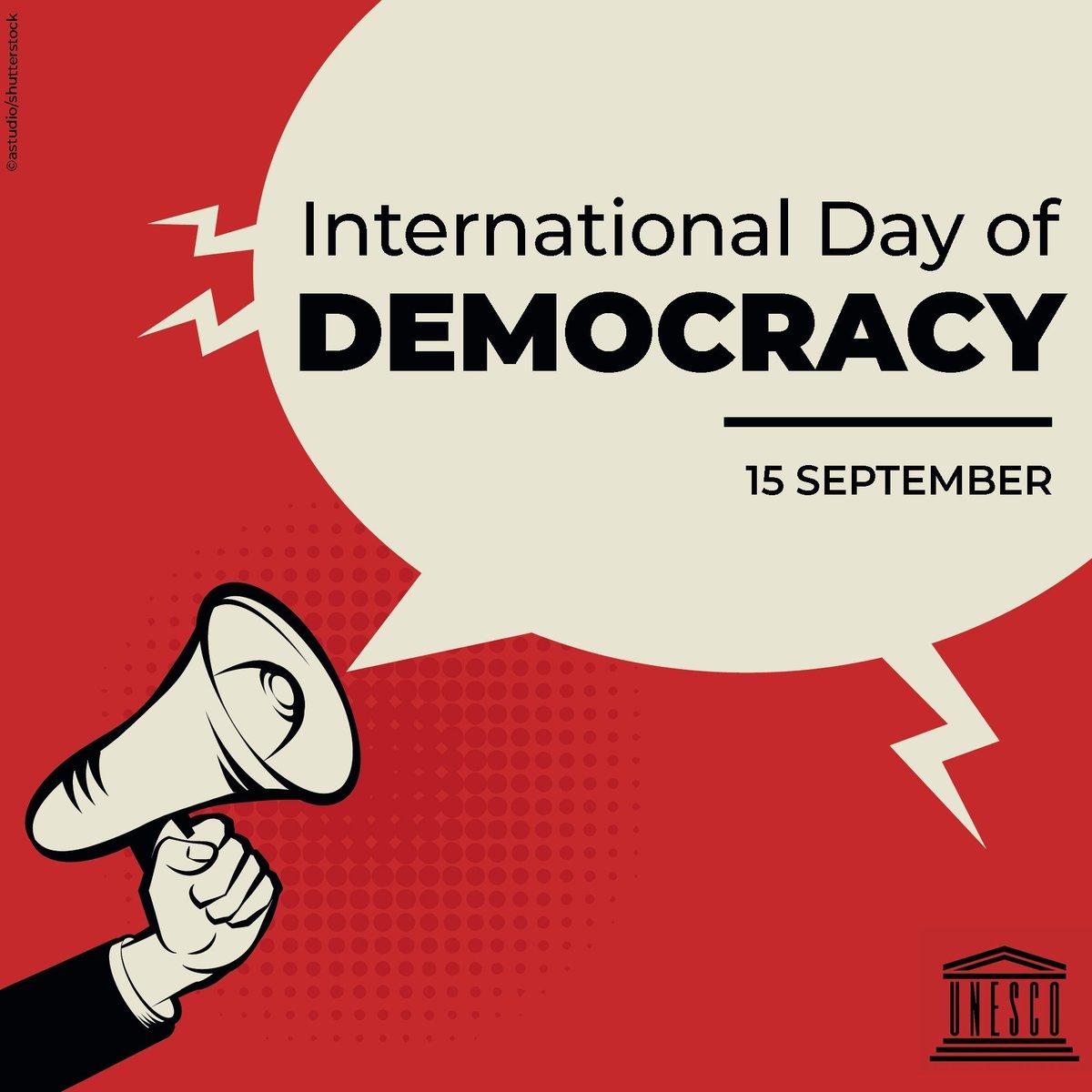 @UNESCO's photo on #DemocracyDay