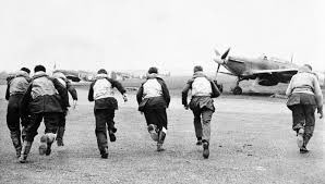 Today, 80 years ago, thousands of young pilots ran to their aircraft and took to the skies above England. Both on the ground and in the air, the @RoyalAirForce fought hard to defeat an enemy that vastly outnumbered them #BattleOfBritain80.