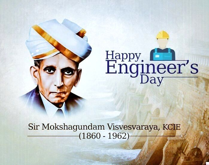 Hard work performed in a disciplined manner will in most cases keep the worker fit and also prolong his life. —Mokshagundam Visvesvaraya #HappyEngineersDay Awesome words applicable to every walk of life.