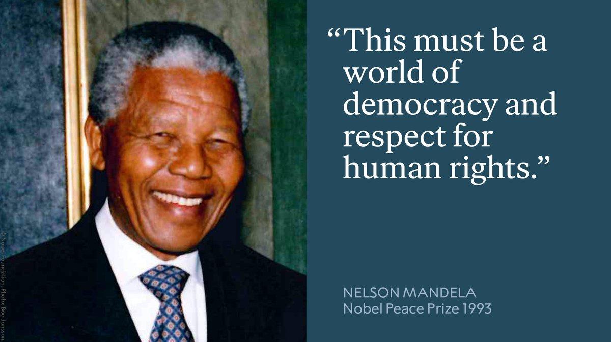 @NobelPrize's photo on #InternationalDayofDemocracy