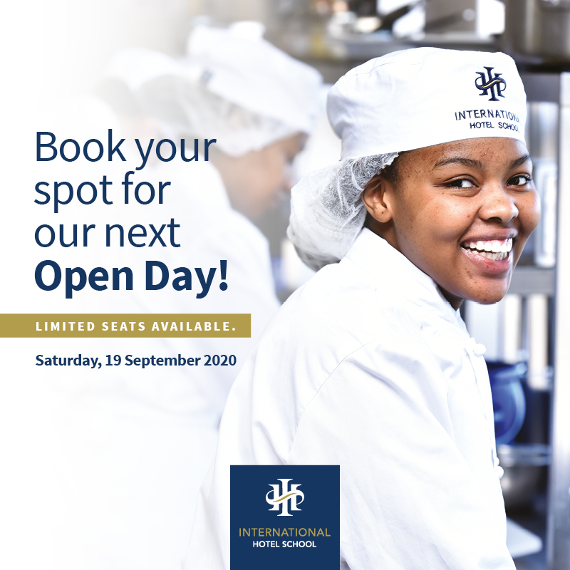 Join us at our Open Day this Saturday, 19 September 2020. Due to Covid-19 regulations, we are only allowed to accommodate a max of 3 per family. Sessions are limited to 10 students with a max of 30 guests to regulate social distancing. Book Here: https://t.co/E3eiuo1tzB https://t.co/74zkFRkAGH