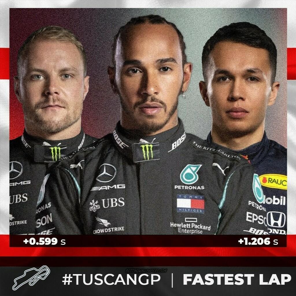 Top 3 position #fastestlap  #tuscangp🇮🇹 @mugellocircuit   @lewishamilton  @valtteribottas  @alex_albon   #F1 #Formula1 #F12020 #F1gp #F1stats #f1fans #f1racing #mugellocircuit   #MercedesAMGF1 #MercedesF1 #mercedesamgf1team  #ValtteriBottas #Bottas #vb77… https://t.co/UpRgBBTtiT https://t.co/znpjEP2ldH