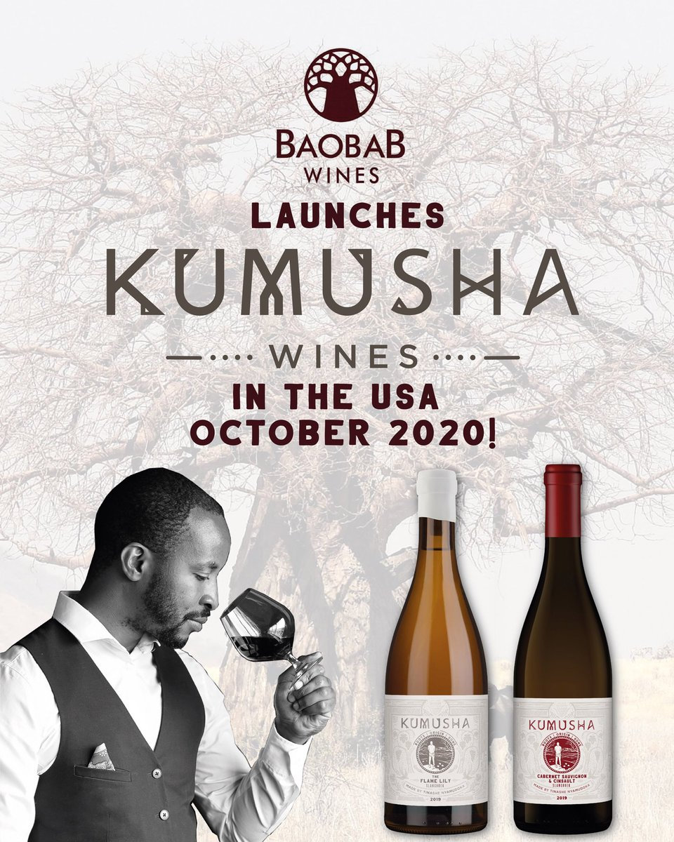 I'm excited to announce that @kumushawines is launching in the USA in Oct, in 12 states🇺🇸🍷🙏🏾 When you clearly, tangibly set your goals, life has a way of rearranging itself, setting in motion a series of events that you could never have predicted or planned, to get you there. https://t.co/m5HqBhGDS9