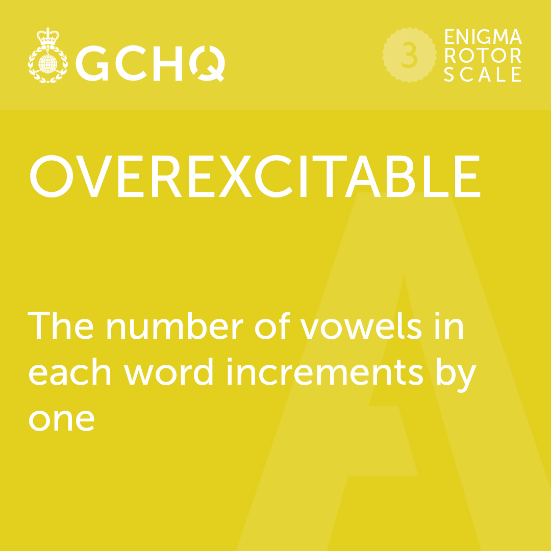 Did you get this weeks #GCHQPuzzle right? Heres our answer, but any word with 6 vowels is correct! 🏆