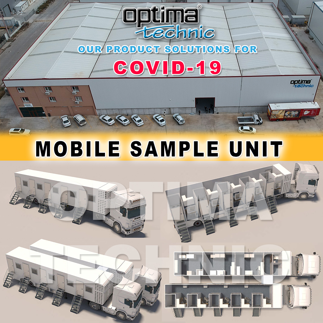 Optima Technic is designing & manufacturing many types Mobile Clinics for Covid-19.  #madeinturkey #mobilehospital #optimatechnic #mobileclinics #mobileclinic #fieldhospital #intensivecareunit #virus #icu #korona #isolation #containers #corona #livehealthy #quarantine #covid19 https://t.co/vlVyJZdzJF