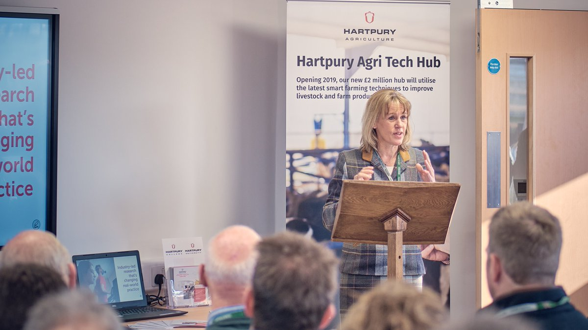 """@Hartpury Agri-Tech Centre offers farmers a great opportunity to access the latest technology and explore how they can embrace innovation on their farm""  Still great memories from our official opening in February with @Minette_Batters @NFUtweets     #access #advice #support https://t.co/llSv1jjZO4"