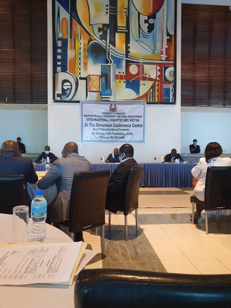 At the Inter-Ministerial Committee meeting yesterday to discuss local government decentralisation policy  Decentralisation is happening. It's a manifesto promise and it is been implemented. https://t.co/SbJz72C17d