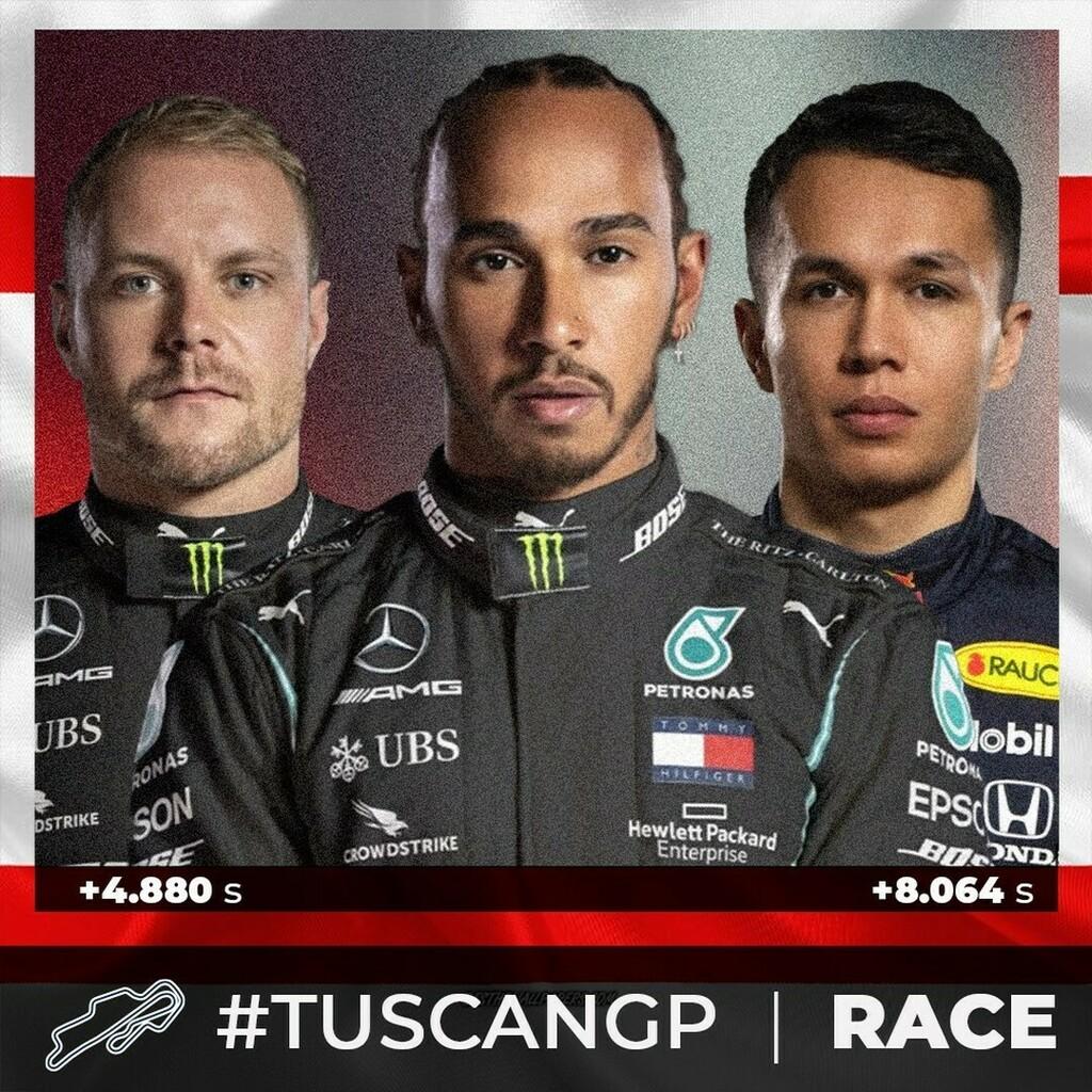 Top 3 position #race #tuscangp🇮🇹 @mugellocircuit   @lewishamilton  @valtteribottas  @alex_albon   #F1 #Formula1 #F12020 #F1gp #F1stats #f1fans #f1racing #mugellocircuit   #MercedesAMGF1 #MercedesF1 #mercedesamgf1team  #ValtteriBottas #Bottas #vb77 #Lewis… https://t.co/znR6bO3b5C https://t.co/V8ZT6OrXXp
