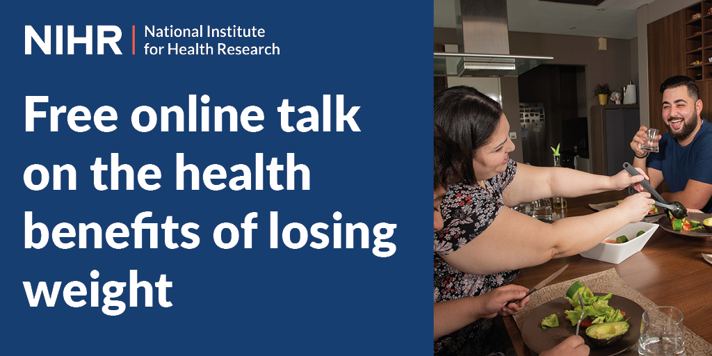 Watch a free online talk about the benefits of losing weight by Susan Jebb of @UniofOxford at 6pm on Tuesday 6 October. Read more and book now at https://t.co/LJULtEjDD3 @Oxford_IF https://t.co/fSKlBAYfek