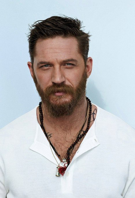 Clearly my brother from another mother lol. Happy Birthday, Tom Hardy!