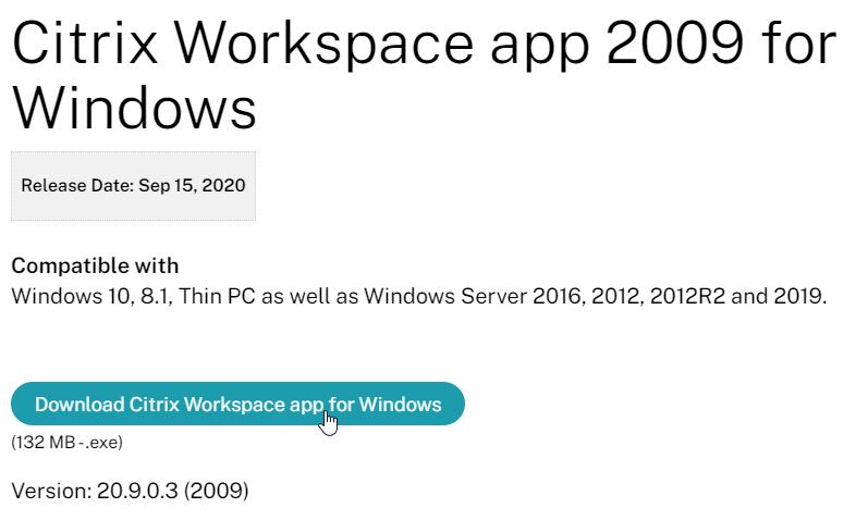 Carl Stalhood On Twitter Download Citrix Workspace App 2009 For Windows Https T Co Hc4zgnm0dz