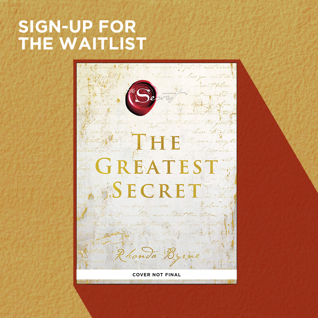 The Greatest Secret by Rhonda Byrne is coming soon to NBS! The author of the life-altering The Secret returns with a new book that offers you a direct path to live a life of deep joy.  Sign up for the wait list:  #TheGreatestSecret #NBSNewReads #NBSeveryday