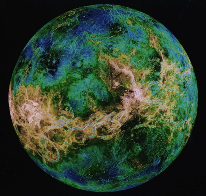 Astronomers find possible signs of life in Venus atmosphere.  Phosphine is a gas that on Earth only is associated with life. Venus has on surface temperatures around 800 degrees. #astronomy #Physics #science 📷NASA https://t.co/ediYOA1Tq5 https://t.co/wI0BVaTHIJ