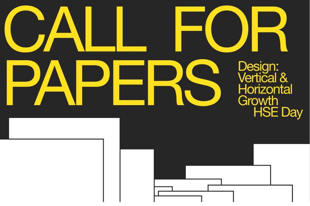 Call for Papers extended! Design: Vertical & Horizontal Growth. New deadline: 1 October, 2020 Digital Conference in collaboration with Cumulus FUTURE HUMAN – CREATIVE INDUSTRY – INTER-ACTION 28-30 October, 2020 Moscow and St. Petersburg, Russia https://t.co/WtP8jf5FdU https://t.co/zh4faTYiSA