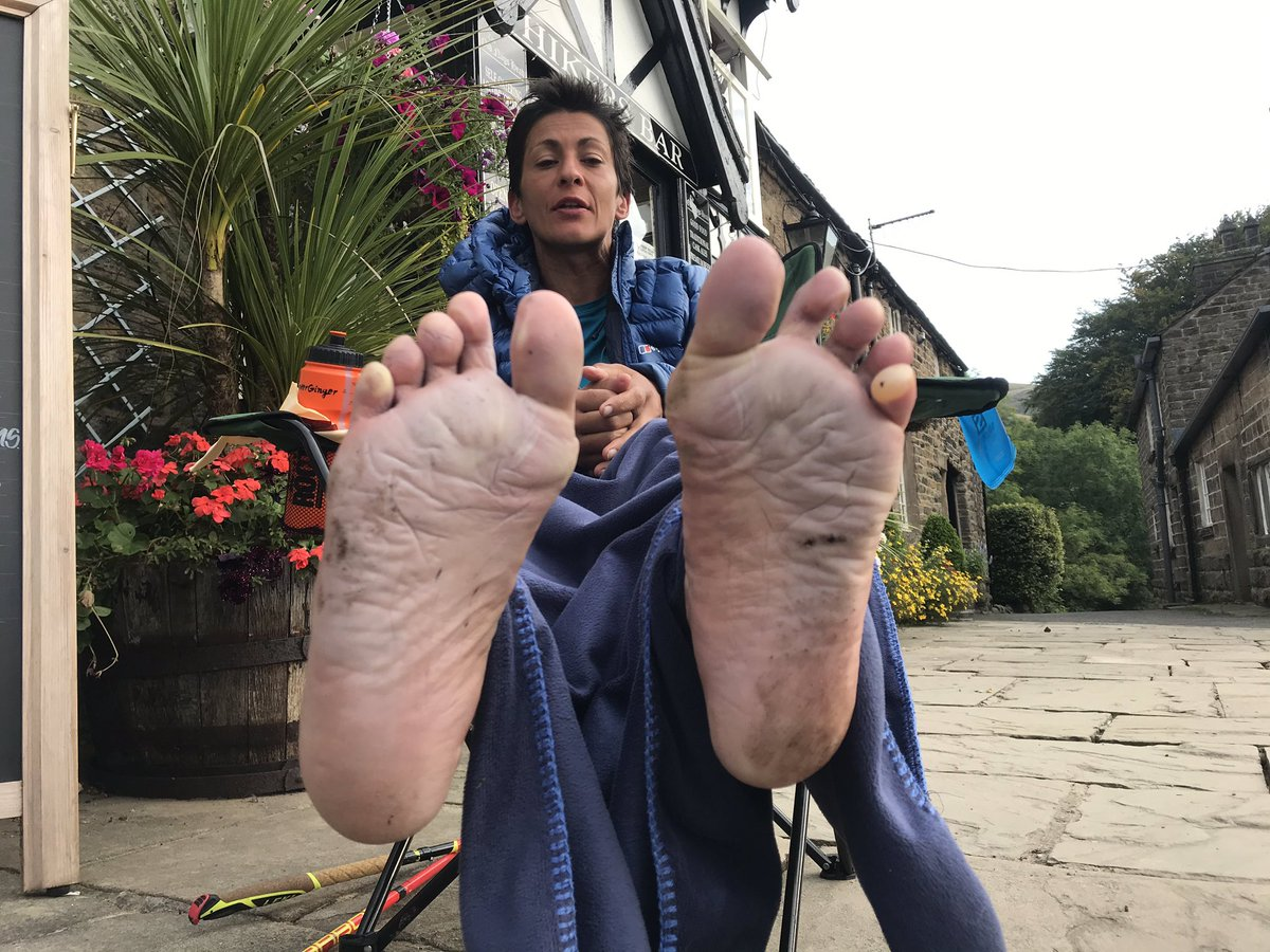 Official time 74:28:46!! 🏃🏿♀️ New ladies Pennine Way FKT record by Sabrina Verjee, Tues 15 Sept 2020. 🍟☀️💦😱⛰ Congrats to Sabs & everyone who helped her achieve this over the last few days! #SabsPennineFKT Finish film live here https://t.co/DppYoUU0yn 🌟🌟🌟🌟 @opentracking https://t.co/RnjRqh8O4N