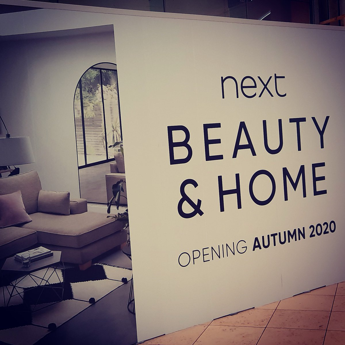 It's coming... @nextofficial #Beauty & #Home @intuMK 💄🏠😃 https://t.co/azLoqxC4Qs