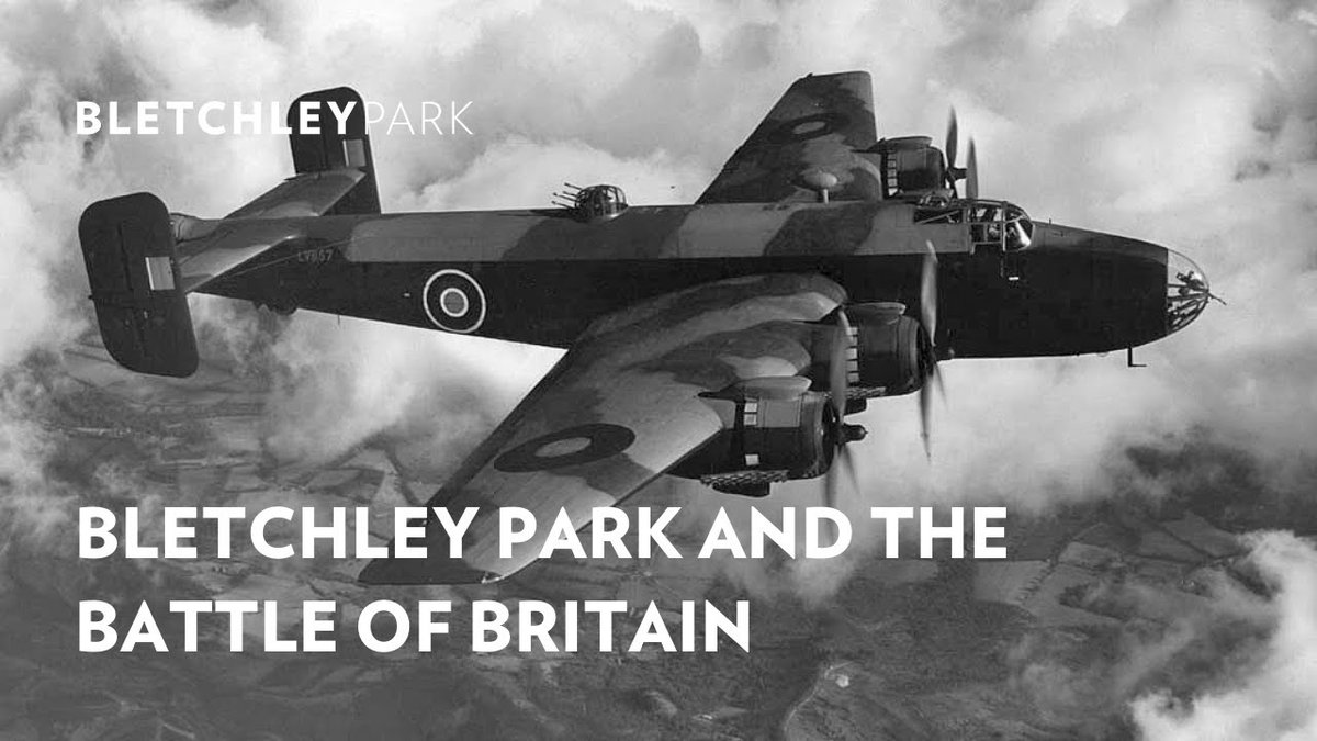 📆2020 marks 80 years since the #BattleofBritain Behind-the-scenes Bletchley Park was playing a vital role producing intelligence to help @RoyalAirForce 🛫 Our Research Historian Dr David Kenyon takes you through the story: 📽️ ow.ly/3Hc550BqZKe #BattleOfBritain80