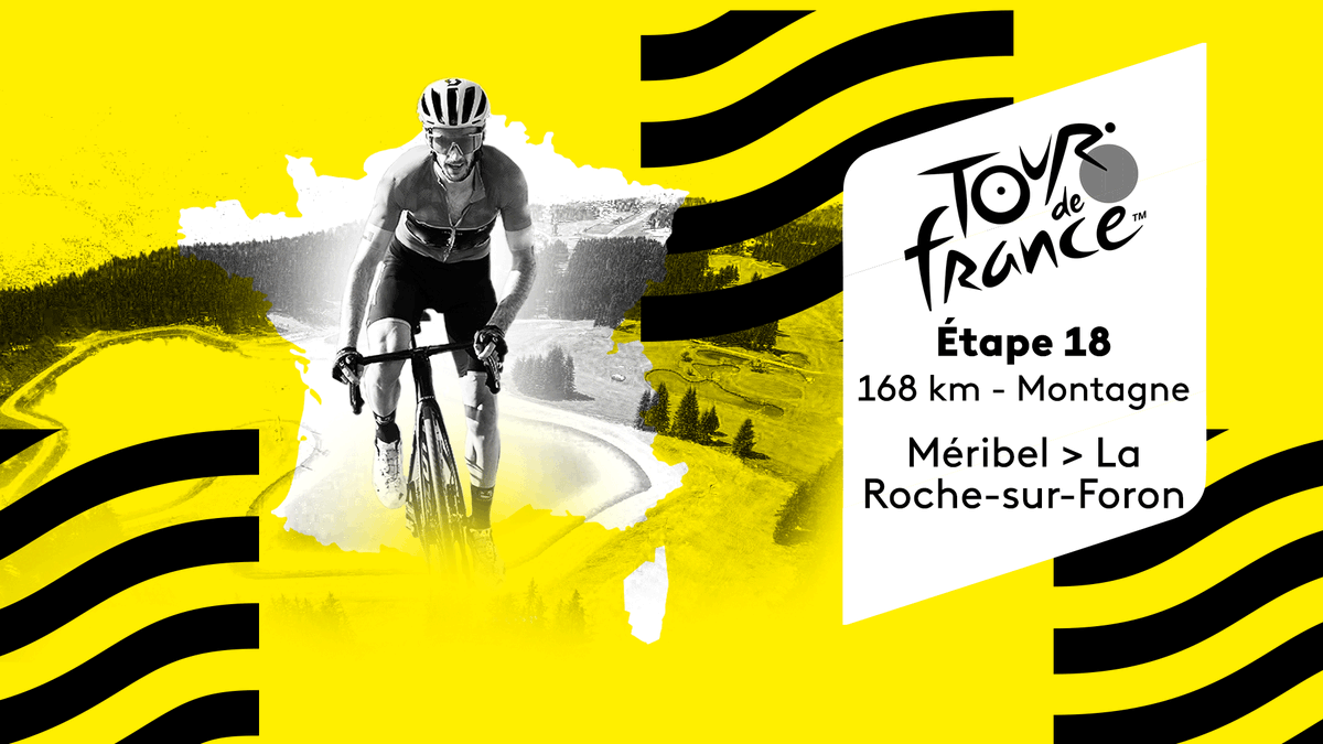 #TDF2020 : l'enchaînement du jour s'adressera aux grimpeurs les plus endurants puisque l'on dépassera les 4 000 m d'ascension au total !   Regardez la 18e étape en direct ▶ https://t.co/IugRhoOIQK https://t.co/0rnu8Taepu