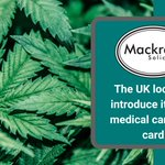 Image for the Tweet beginning: #MedicinalCannabis patients in the UK