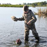 Image for the Tweet beginning: Waterfowl hunters: Clean, Drain and