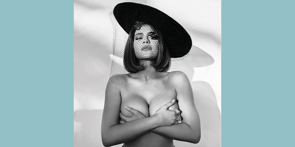 Whether you check your boobs in colour or black & white, why not do it in your best fascinator - channelling #UnlikelyBoobHero @KylieJenner on her 23rd birthday. https://t.co/kw3C66Istp