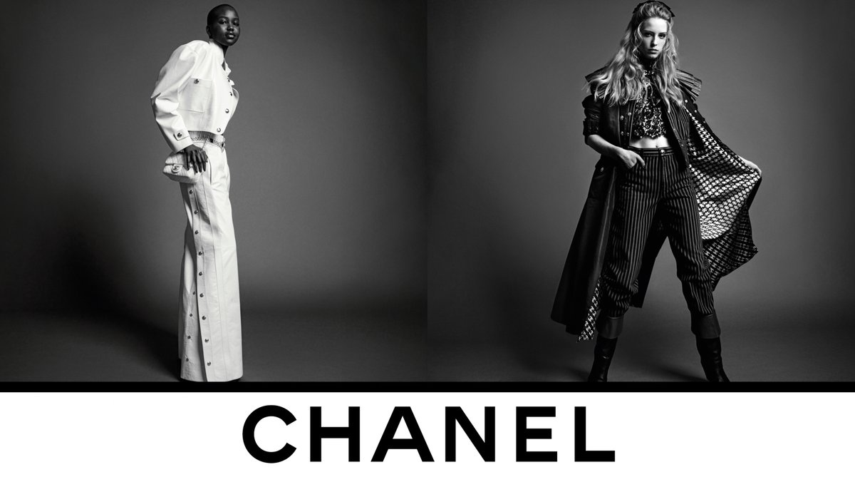The eternal modernity of the CHANEL allure infuses looks from the Fall-Winter 2020/21 Ready-to-Wear collection, now in boutiques. Photographed by Inez & Vinoodh. #CHANELFallWinter #CHANEL See more on https://t.co/fNjhIOl1fa https://t.co/RLs2aIwG3B
