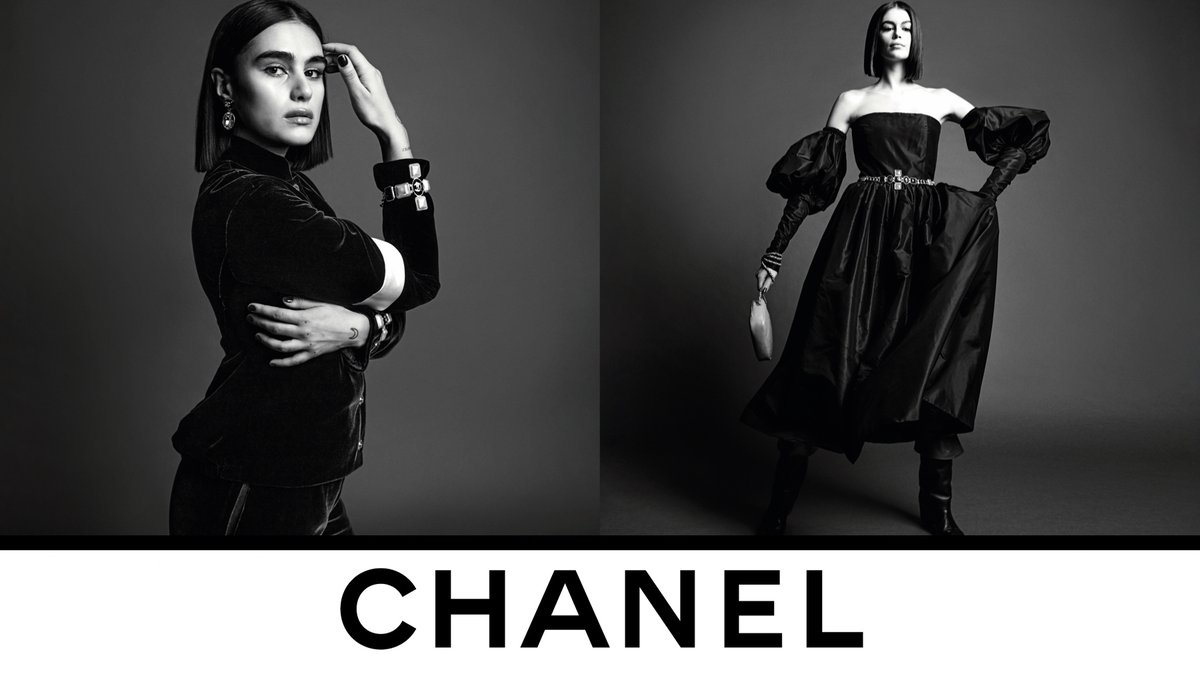 """""""A very simple, very pure momentum. Romanticism but without any flourishes"""", explains Virginie Viard about the CHANEL Fall-Winter 2020/21 collection, now in boutiques. Photographed by Inez & Vinoodh. #CHANELFallWinter #CHANEL See more on https://t.co/fNjhIOCC6I https://t.co/fu5kgympnl"""