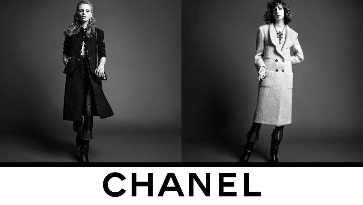 Feminine finishes outline the CHANEL Fall-Winter 2020/21 Ready-to-Wear collection silhouettes imagined by Virginie Viard, now in boutiques. Photographed by Inez & Vinoodh. #CHANELFallWinter #CHANEL See more on https://t.co/fNjhIOl1fa https://t.co/vVbXBfmSoR