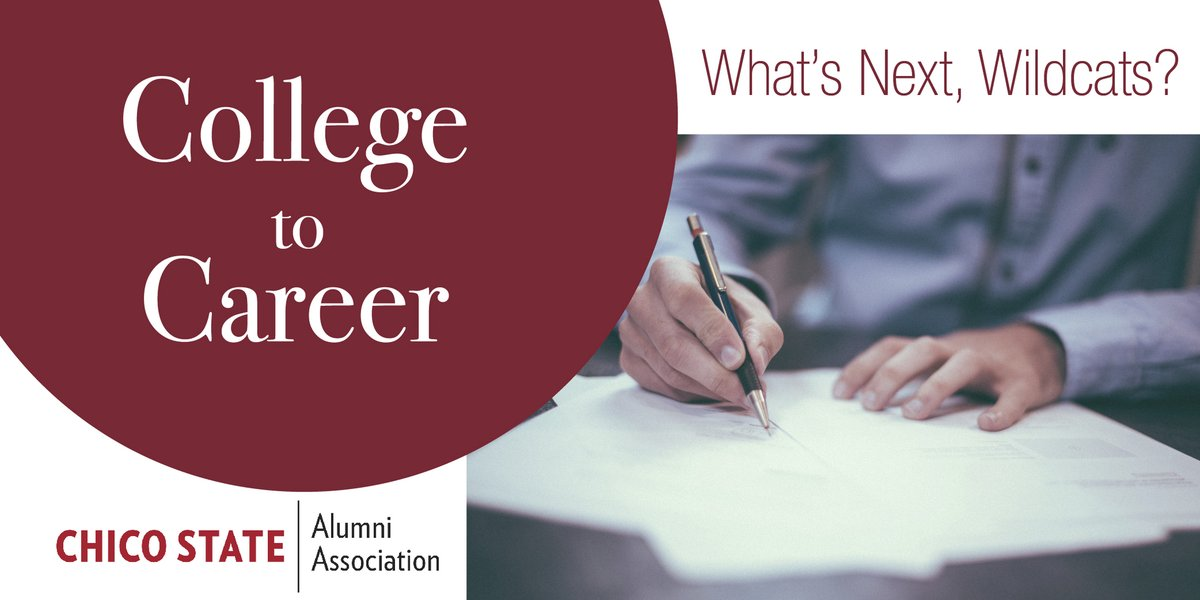 Join us tomorrow, September 16 at 2:00 p.m. for our first collaboration webinar with the Chico State Career Center. Interested in knowing how to take the next steps into your career? Hear from four successful alums and learn from the best!  Register today! https://t.co/NgHVRSwHwo https://t.co/yAcSH2QERl