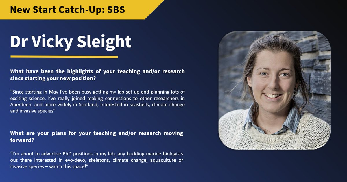 Vicky Sleight has joined us from @CamZoology and @WolfsonCam  as a Lecturer in Marine Biology! Stay posted for PhD opportunities with @VS_Marine! #natureonourdoorstep https://t.co/bWeqA7Qbix