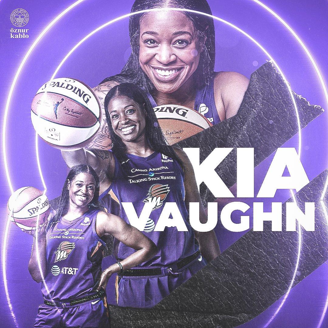 WNBA Playofflarında mücadele edecek oyuncularımız Kia Vaughn, Jasmine Thomas ve Kayla McBride'a başarılar dileriz! 🙏  Good luck at WNBA Playoffs, ladies! 💛💙 https://t.co/Fwspw1tav4