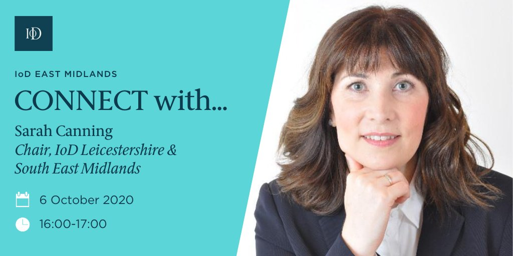 Join our Q&A with IoD Leicestershire & South East Midlands Chair Sarah Canning and Vice Chair Dr Shamir Ghumra on 06.10.20! Hosted by Gary Headland, this is a perfect opportunity to find out more about your local IoD! #Networking #Iod   Book now! 👍 https://t.co/dPhCulTMIC https://t.co/gxPON2mHrL