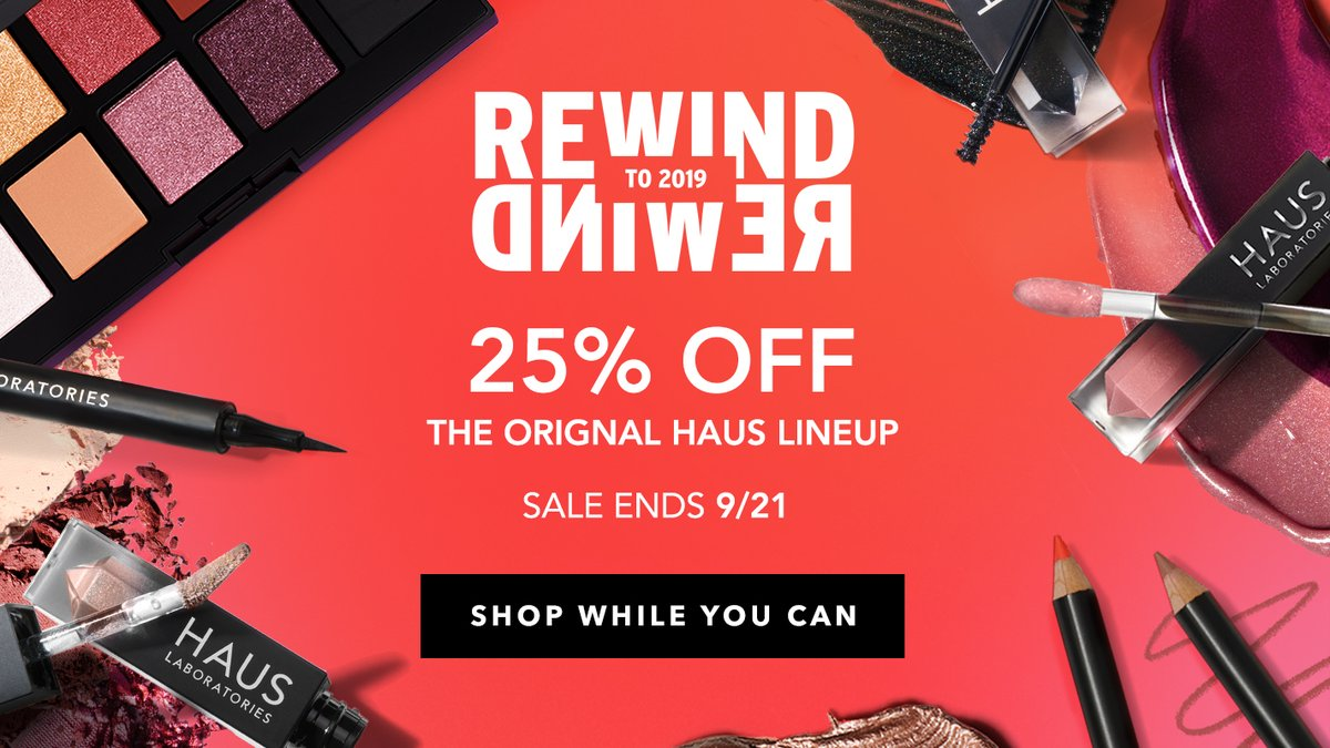 REWIND to 2019! Shop your favorites from our original lineup at 25% off >> https://t.co/IncVEf3O3R https://t.co/CWVdOYwUu6