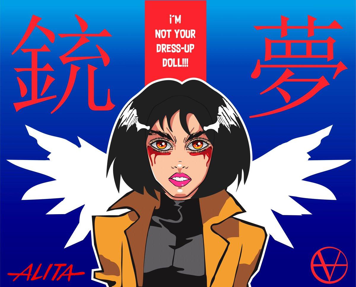 """I'm not your dress-up doll""  . . . #powergirl #girlpower #alita #alitafanart #fanart #otaku #manganime #manga #anime #comic #drawingdigital #digitalillustration #wacom #coreldraw #graphicart 💜 https://t.co/iF4bxh0ur5"