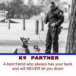 Image for the Tweet beginning: K9 Partner: A best friend