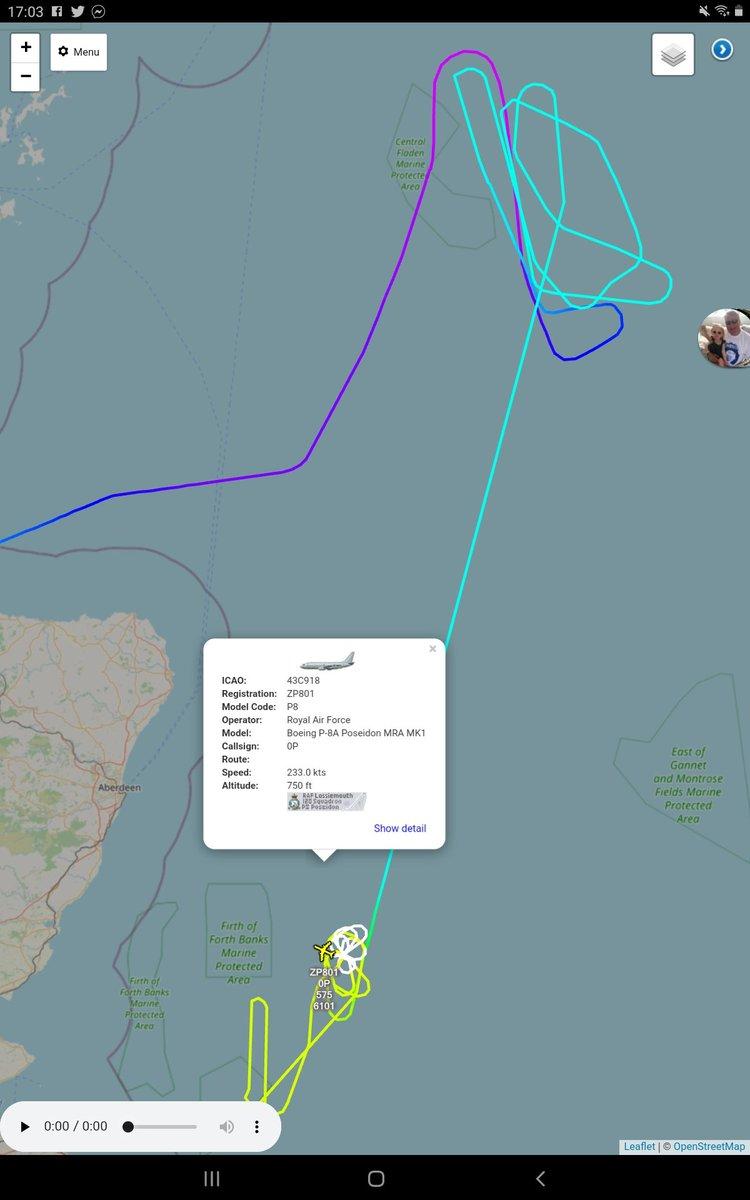 #ZP801 @P8A_PoseidonRAF @CXX_Squadron @RAFLossiemouth @Kinloss_Bks #TeamLossie out on exercise again.  @AIR_Intl @AirAssets @planesonthenet https://t.co/JPNwBp8qvE